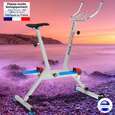 Poolbiking One, l'aquabike semi-professionnel