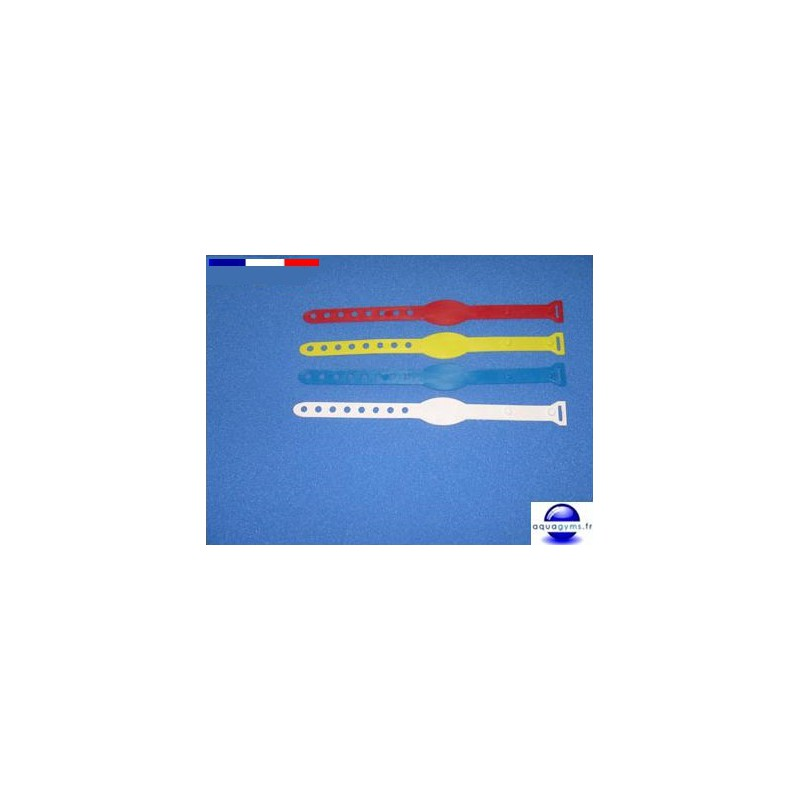 Bracelet piscine en plastique non num rot par lot for Piscine plastique