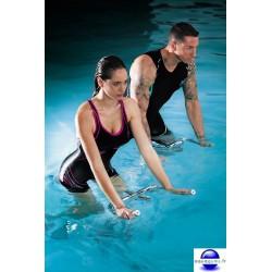 Combi maillot pour aquabike et aquafitness