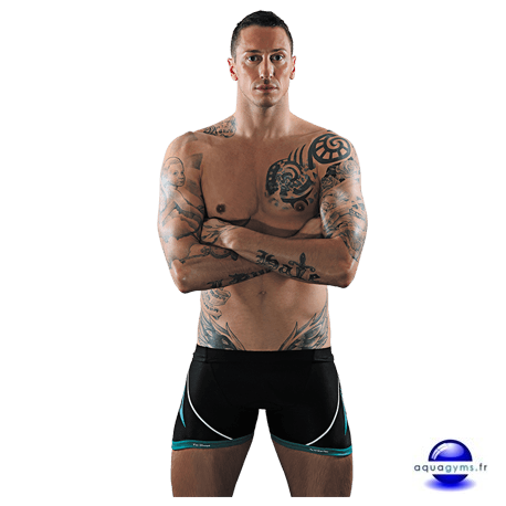 Shorty pour aquabike et aquafitness
