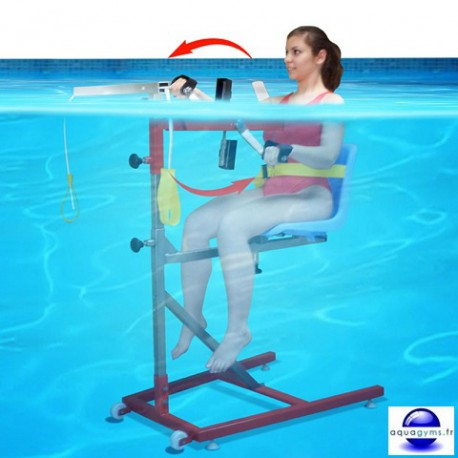 Aquabike r ducation louis 3 for Velo elliptique piscine
