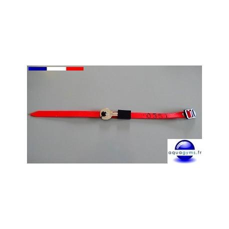 Boitier range-clé pour bracelet piscine