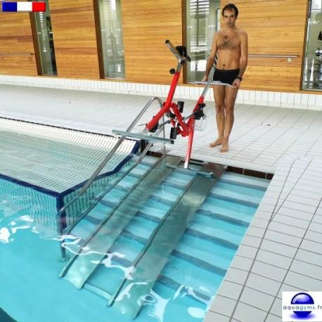 Rampe aquabike pour mise à l'eau