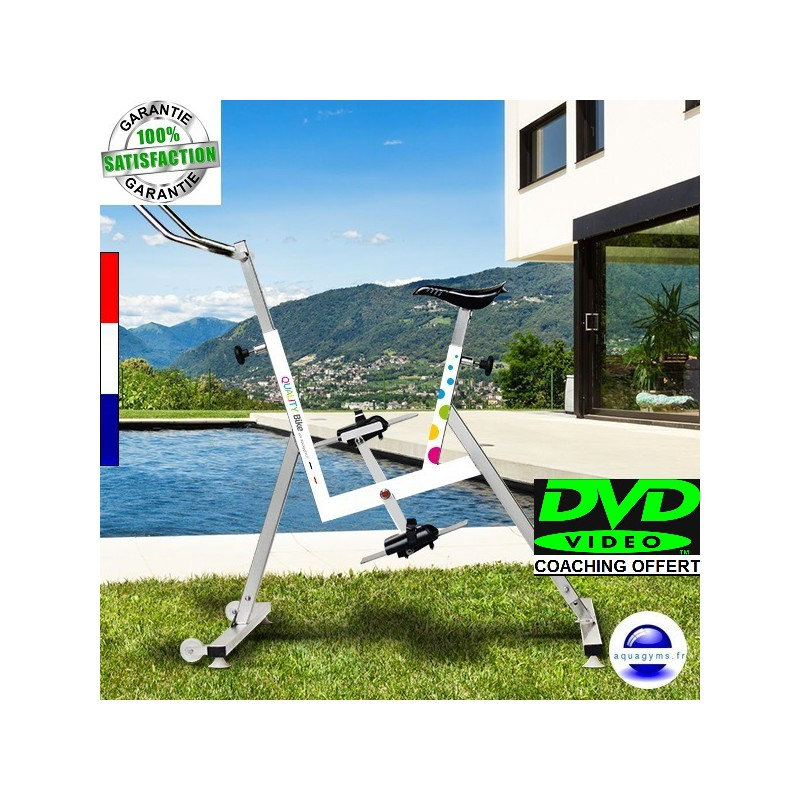 V lo piscine quality bike pas cher l 39 aquabike made in for Velo elliptique piscine