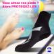 Chaussons de piscine antibactérien