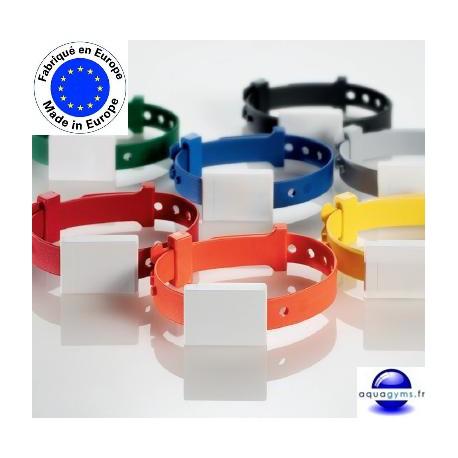 Bracelet piscine fermé et ajustable non numéroté - Ojmar par lot