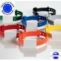 Bracelet piscine fermé et ajustable non numéroté - Ojmar - Par lot