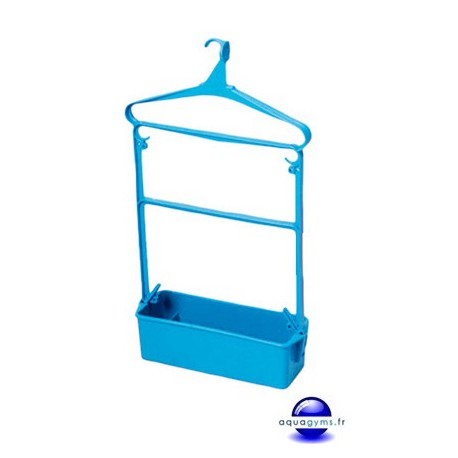Cintre porte habit piscine grand modèle averc bac