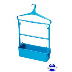 Cintre porte habit piscine petit modèle averc bac-Lot de 10