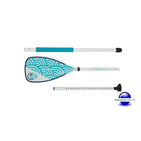 Pagaie aluminium Fidji pour AquaFit Mat