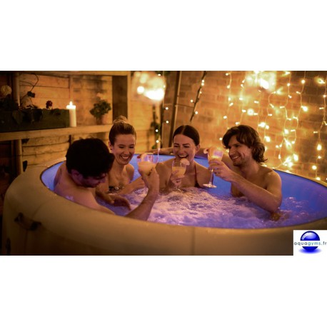 Spa gonflable Bestway Lay-Z Paris avec Chromothérapie LED