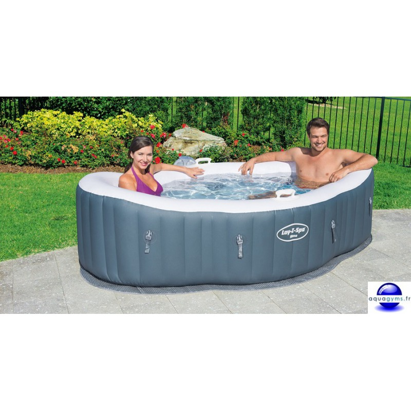 Spa gonflable test finest intex jacuzzi gonflable les for Jacuzzi gifi