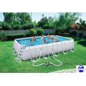 Piscine rectangulaire Steel Pro Frame Pools 671x366x132 cm