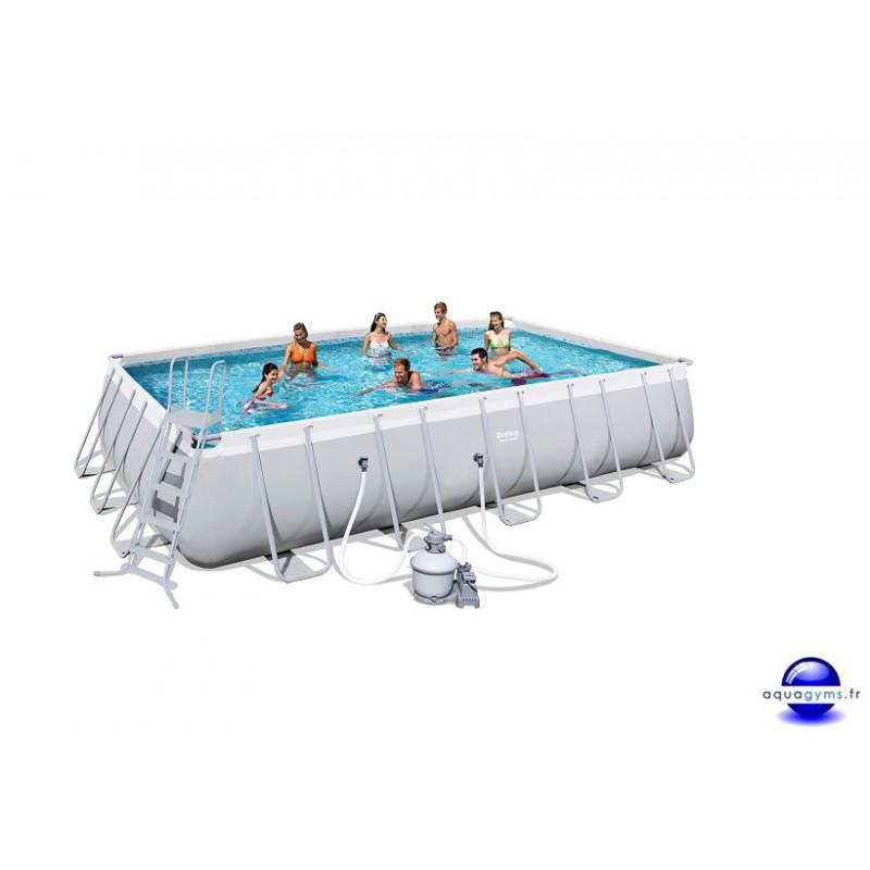 piscine rectangulaire steel pro frame pools 671x366x132 cm. Black Bedroom Furniture Sets. Home Design Ideas
