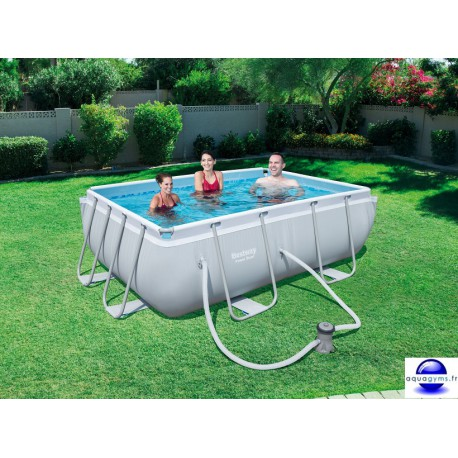 Piscine rectangulaire Steel Pro Frame Pools 282x196x84 cm