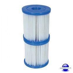Cartouche de filtration piscine Bestway Type I - Par 2