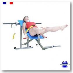 Banc aquabike Gaïa 3 contre le mal de dos