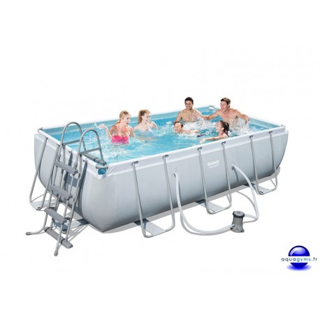 Kit Piscine Rectangulaire Steel Pro Frame Pools L 404cm l 201cm h 100cm