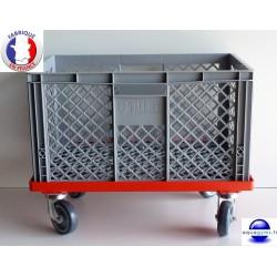 Chariot de rangement mobile piscine Aqua1