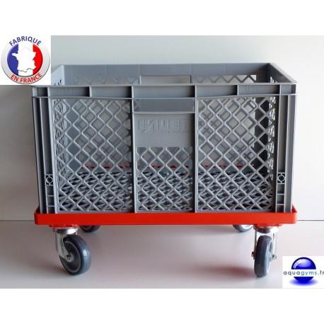 Bac de rangement mobile piscine Aqua1