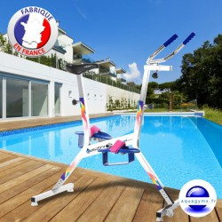 Vélo piscine français Quality'v Color