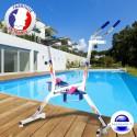 Vélo piscine français Quality'v Color