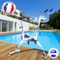 Aquabike français Quality'v bleu