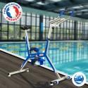 Aquabike Quality'v Pro français bleu