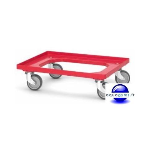 Plateau de transport mobile pour caisse