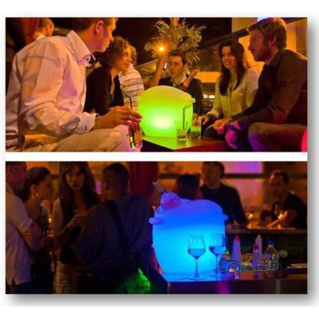 Seau à champagne Illuseo lampe