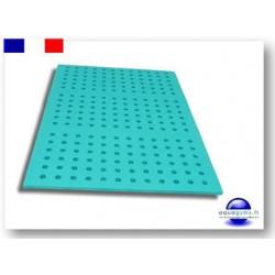Tapis aquatique perforé 1 m x 0.50 m x 1.5 cm