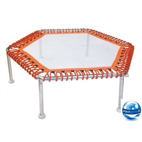 Trampoline pour piscine Premium Hexagonal