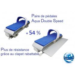 Pédales aquabike de résistance