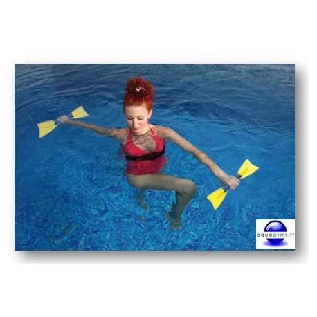 Aquapalmes non lestés pour les exercices d'aquafitness