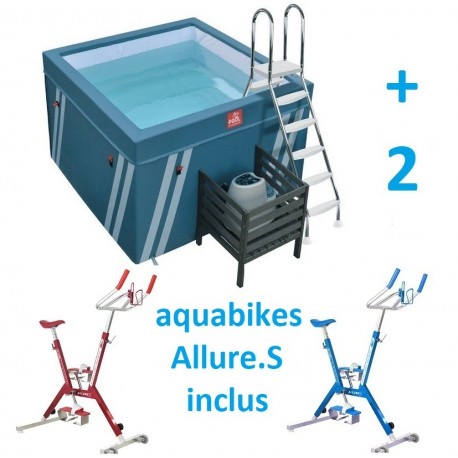 Bassin pour aquabike Fits Pool