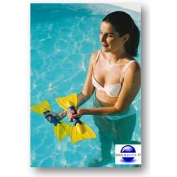 Aquapalmes lestés pour vos exercices d'aquafitness