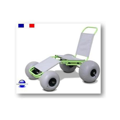 Fauteuil Quad pour personne à mobilité réduite
