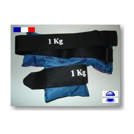 Poids lestés de 1 kg pour exercices en piscine