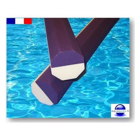 Frites piscine 1.00 m octogonales bi-couleurs qualité pro