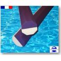 Frites piscine 1.60 m octogonales bi-couleurs qualité pro