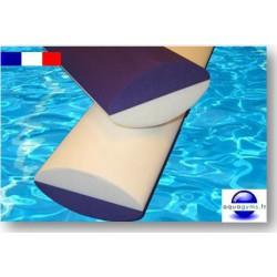 Frites piscine 1.00 m ovales bi-couleurs qualité pro