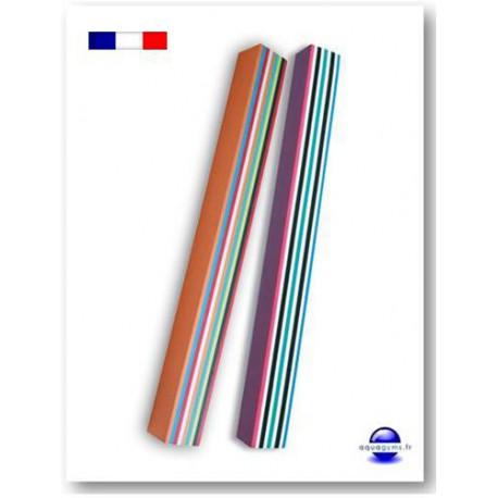 Frite piscine multicolore for Accessoire piscine frite