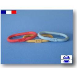 Bracelet piscine en caoutchouc numéroté - Par lot