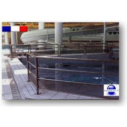 Barrière pour piscine en inox