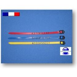 Bracelet piscine en PVC pour lettres et chiffres - Par lot