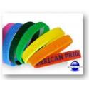 Bracelets piscine en silicone personnalisables - Lot de 100