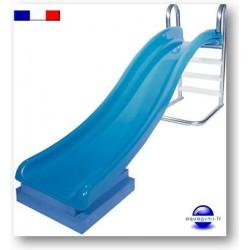 Toboggan piscine grande qualité pour collectivité