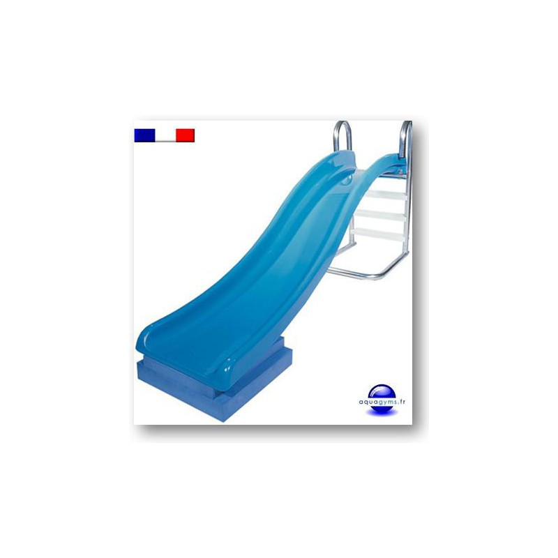Toboggan piscine grande qualit pour collectibit for Piscine avec toboggan