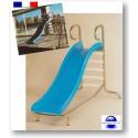 Toboggan piscine éducatif pour collectivité