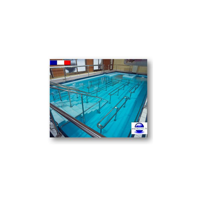 Couloir de nage piscine collective for Piscine collective